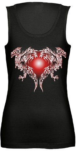 Rock Style Dragonheart Schwarz