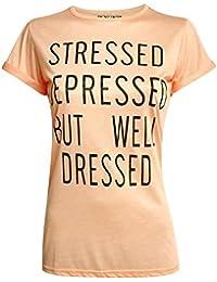 PILOT® bien habillé t-shirt de slogan Elspeth