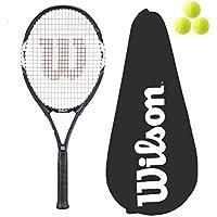 Wilson Surge Power 108 Raquette de tennis + 3 balles de tennis