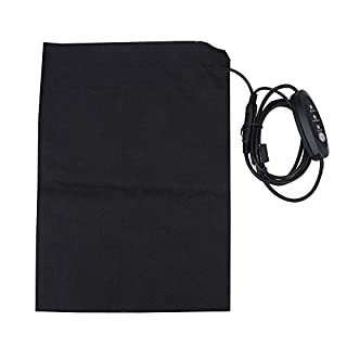 Heating Pad, 5V USB Heated Vest Cushion Pet Dog Mat, 2A DIY Electric-Heating Back Pads Clothing Accessory for Outdoor & Indoor