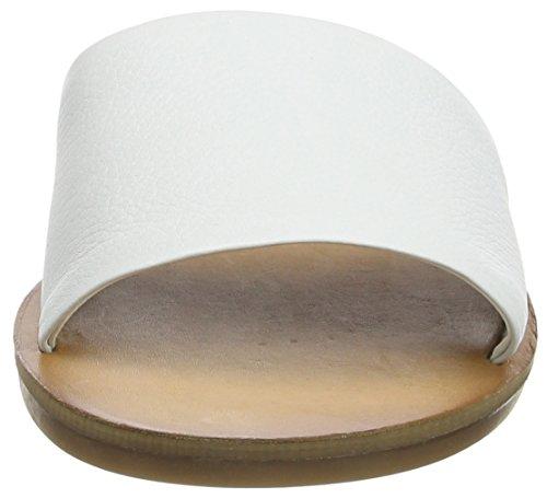 Aldo Damen Brittny Offene Sandalen mit Keilabsatz Weiß (70 White)
