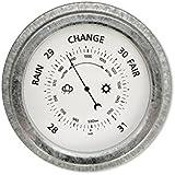 Garden Trading St Ives Barometer - Galvanised Steel