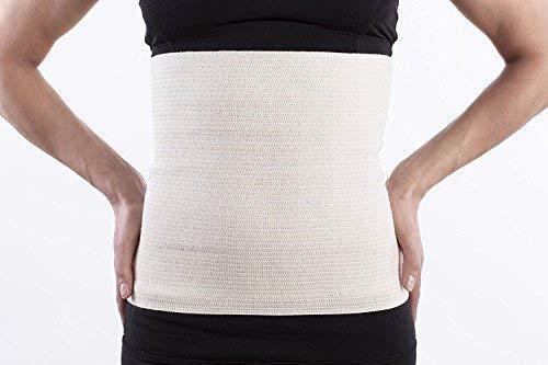 Lauftex, Nierenwärmer Angora & Merino Wolle - für Damen und Herren. Unisex Rückenwärmer und Leibwärmer (XL)