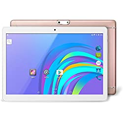 Yuntab 9.6 pollici 3G Tablet PC Quad-Core Phablet K98 Android 5.1 unlocked smartphone Webcam 2G, 3G/Wifi 1GB+16GB with dual camera Bluetooth, GPS, WIFI, IPS touch screen 1280X800 Metallo (Oro Rosa)