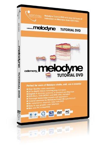 Melodyne Tutorial: Deutsch- und englischsprachige Melodyne Tutorial DVD von ASK-Video