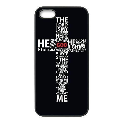 LP-LG Phone Case Of Jesus Christ Cross For iPhone 5,5S [Pattern-6] Pattern-1