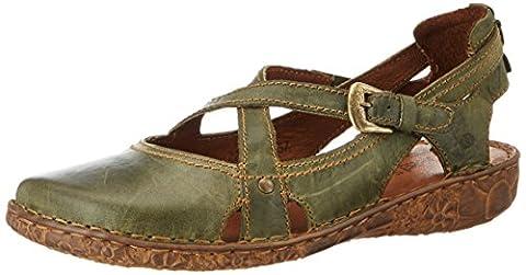 Josef Seibel Women's Rosalie 13 Open Toe Sandals green Size: 6.5