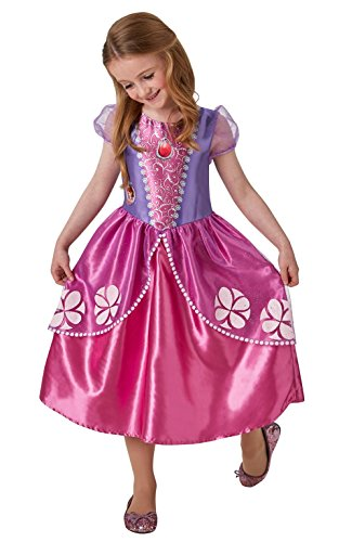 Disney Sofia die Erste Girl 's, Kind Kostüm–Kleine (Sofia Die Erste Halloween-party)