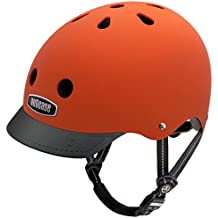 Nutcase - Street, Casco de bicicleta para adultos, Dutch Orange Matte, Medium