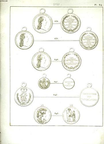 Histoire Numismatique de la Révolution Française. Planche N°84 : 1797 par HENNIN et VERAN