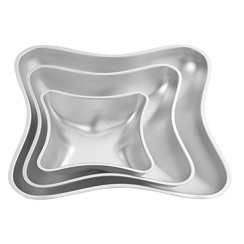 Wilton Kuchenformen-Set Kissen, Performance Pans, 4-Teilig Wilton Ring-form