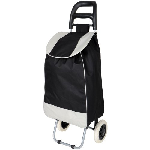 Folding Essential Shopping Trolley-Luggage-Bag-With-2Wheels (Only any 1 Pcs Trolley & Bag) (Color May be Very) BY Krishyam  available at amazon for Rs.1199