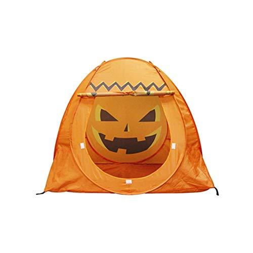 DLLzq Kinderzelt Halloween Kürbiszelt Spiel Spukhaus Kinder Tipi Zelt
