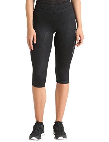 Ultrasport Endurance Damen Printed Leggings Dumfries, 3/4, Schwarz, 36 Preisvergleich