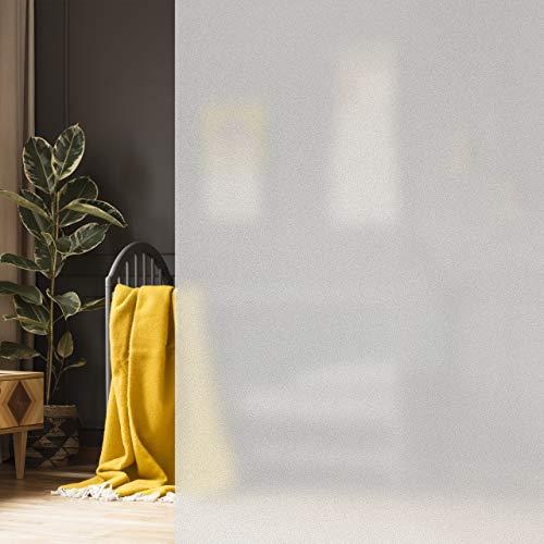10,17€//m² Statische Milchglas-Folie 200 x122cm SF10 Sichtschutz Fenster Glas