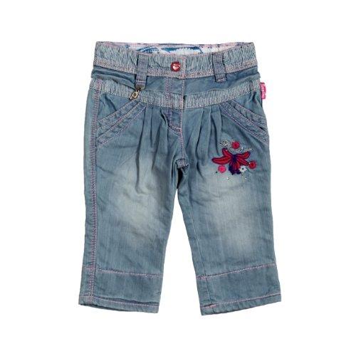 Pampolina Baby - Mädchen Jeans Normaler Bund 6363104, Gr. 98, Blau (0015) (Baby-mädchen Pampolina)