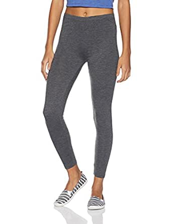 Ajile By Pantaloons Women's Relaxed Fit Sports Trousers (110015469_Charcoal Melange_X-Small)
