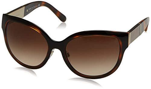 BURBERRY Damen 0BE3087 121713 57 Sonnenbrille, (Light Gold/Browngradient) - Burberry Light