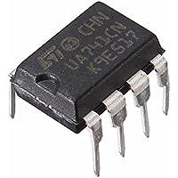 Ils - 10 Piezas UA741CN Dip-8 UA741 LM741 ST Chip IC Amplificador Operacional