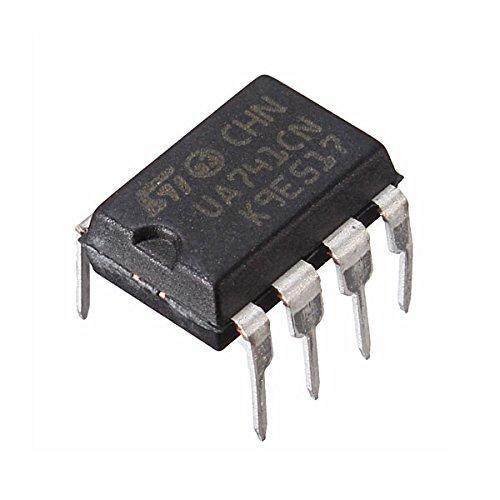 Bluelover 10Pcs Ua741Cn Dip-8 Ua741 Lm741 St Ic Chip