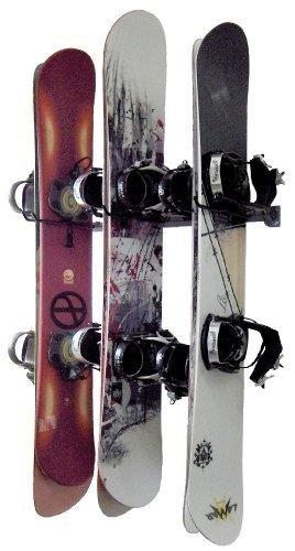Monkey Bars Snowboard Wall Rack by Monkey Bar Storage -