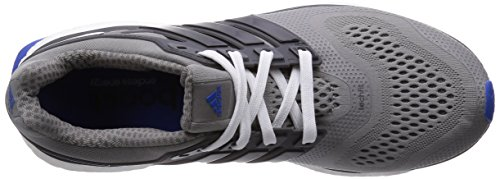 adidas  Energy Boost ESM, Chaussures de course hommes Gris - Grau (Ch Solid Grey/Core Black/Blue)