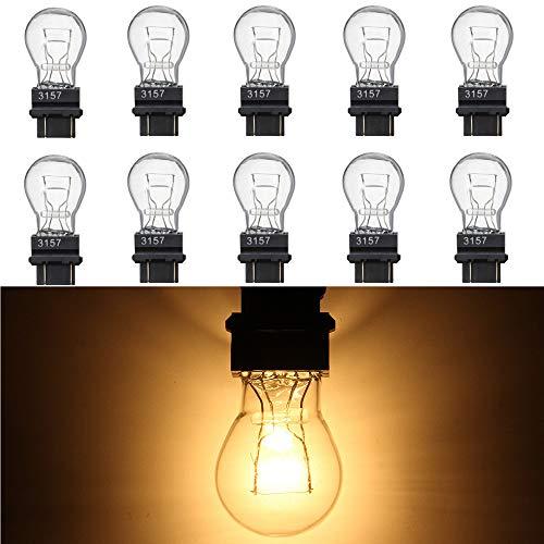 ALLOMN 10 STÜCKE 3157 Glühlampen, Auto DRL Tagfahrlicht Heckbremse Backup Reverse S8 Signal Lampe Blinker 12 V