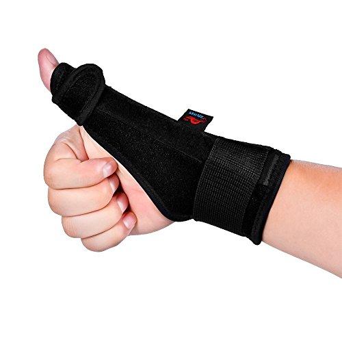 AOLIKES Soporte Férulas Pulgar Dedos Muñeca Tendón para Artritis Túnel Carpiano Dolor Esguince