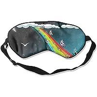 Cow On Rainbow Road Sleep Eyes Masks - Comfortable Sleeping Mask Eye Cover For Travelling Night Noon Nap Mediation... preisvergleich bei billige-tabletten.eu