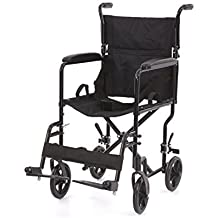Transporte - Silla de ruedas Gloria Ancho del asiento 48 cm plegable de Romed