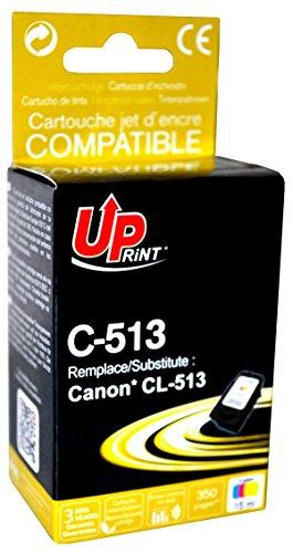 Cartouche compatible CANON CL-513 - 3 Couleurs - marque : UPrint C-513 - Imprimantes : PIXMA IP2700 / PIXMA IP2702 / PIXMA MP230 / PIXMA MP240 / PIXMA MP250 / PIXMA MP252 / PIXMA MP260 / PIXMA MP270 / PIXMA MP272 / PIXMA MP280 / PIXMA MP282 / PIXMA MP480 / PIXMA MP490 / PIXMA MP492 / PIXMA MP495 / PIXMA MP499 / PIXMA MX320 / PIXMA MX330 / P