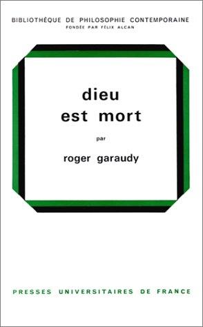 DIEU EST MORT. : Etude sur Hegel