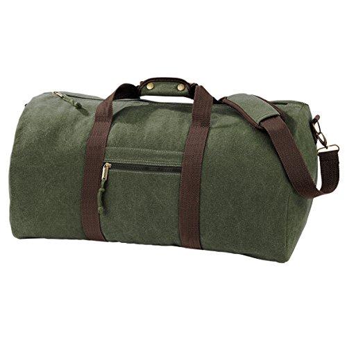 quadra-qd613-vintage-canvas-holdall-travel-duffel-duffle-vintage-military-gree