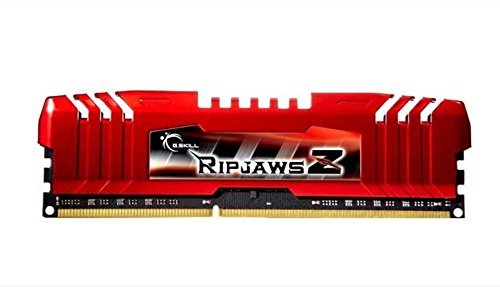 Compare Prices for G-Skill RipjawsZ F3-12800CL10Q-32GBZL 32 GB (8 GB x 4) DDR3 1600 MHz Unbuffered Non-ECC Memory Module with Heat Spreader – Red Special