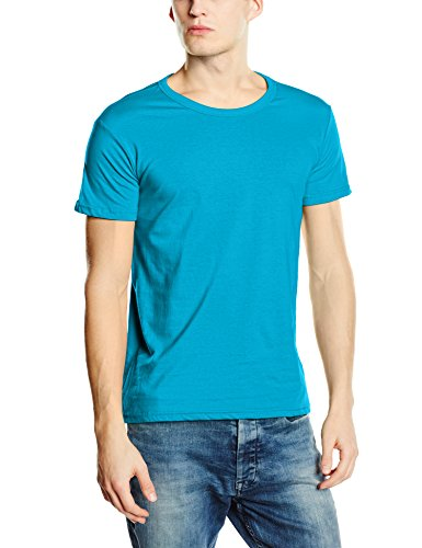 Stedman Apparel Herren T-Shirt Ben (Crew Neck)/st9000 Premium Blau - Hawaii Blue