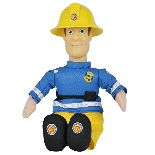 feuerwehrmann sam puppe Feuerwehrmann Sam - Auswahl Beanie Puppe Plüsch Figur 25cm, Typ:Sam