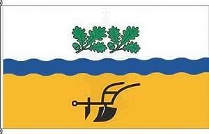 Königsbanner Autoflagge Dreschvitz - 30 x 45cm - Flagge und Fahne
