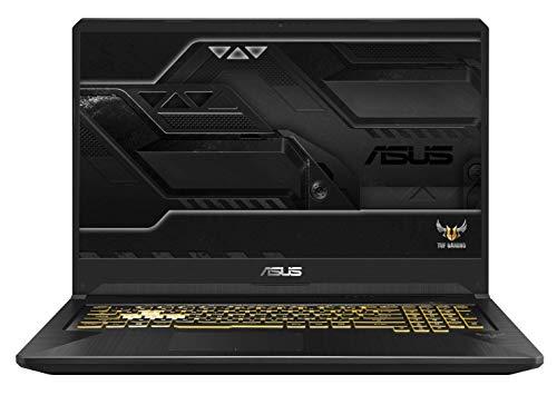 Asus TUF765GM-EV149T-G PC Portable Gamer 17,3' Gris métal (Intel Core i7, 8 Go de RAM, 1 to, Nvidia GeForce GTX1060 6 Go GDDR5, Windows 10) Clavier AZERTY Français
