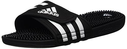 adidas Damen Adissage Dusch- & Badeschuhe, Schwarz Black/Running White Footwear 0, 39 EU