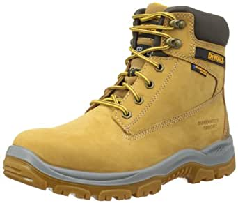 DeWALT Mens Titanium Safety Boots Honey 6 UK, 40 EU Regular