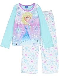 c98cb08059 Offiziell lizensiertes Disney Frozen Elsa Schneeflocken Fleece 2 PCE Pyjama  Set (feuerbeständig) Nachtwäsche