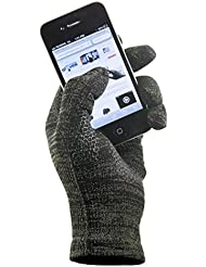 GliderGloves Copper Infused Touch Screen Gloves - Entire Surface Works On Iphones, Androids, Ipads, & Tablets - Anti Slip Palm For Driving & Phone Grip