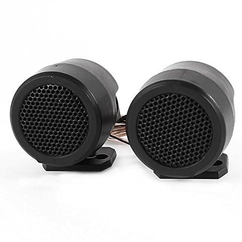 sourcingmap® voiture noir Audio bruyant Speaker dôme haut-parleurs 500 Watts 5KHz-20KHz 2 Pcs