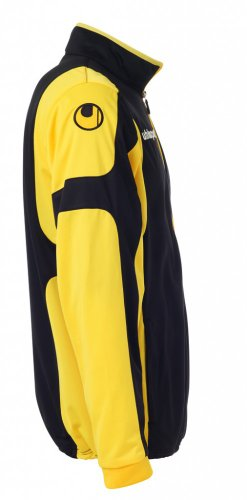 Uhlsport – Giacca Cup Classic nero/giallo mais