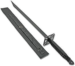 """G8DS® Ninja Schwert """"Black Cross Sword"""" 28"""" mit Scheide in Schwarz BS011393B"""