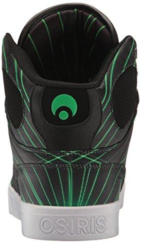 OsirisNyc83 Vlc - Sport, scarpe stringate lifestyle uomo Green/Lazer