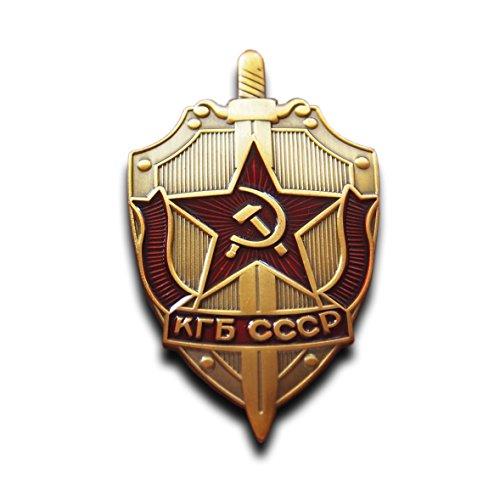 Trikoty KGB Ruso Insignia Soviética Comunista Hoz