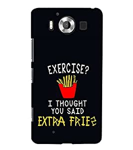 ifasho Designer Phone Back Case Cover Microsoft Lumia 950 :: Nokia Lumia 950 ( Donut Colorful Pattern Design )