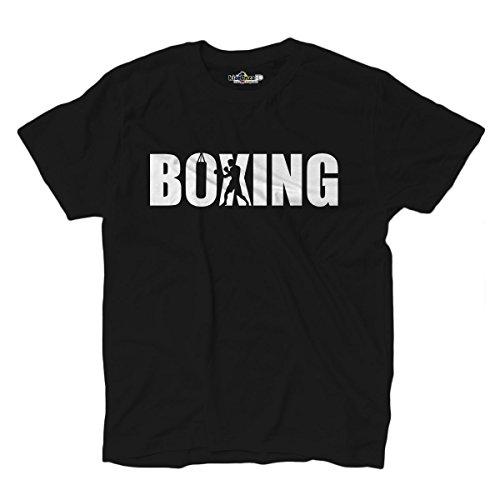 oxen Boxing Boxer Ring Sack Sport Kampf 3Herren, Black Opal ()