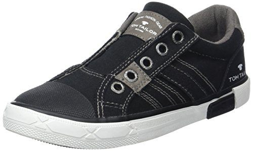 Tom Tailor Kids Jungen 2770903 Slipper, Schwarz (Black), 36 EU